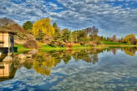 Japanese Garden Reflections