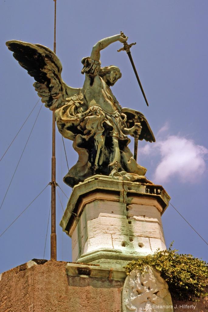 Rome, Italy<br>008Castel SantAngelo - ID: 15127657 © Eleanore J. Hilferty