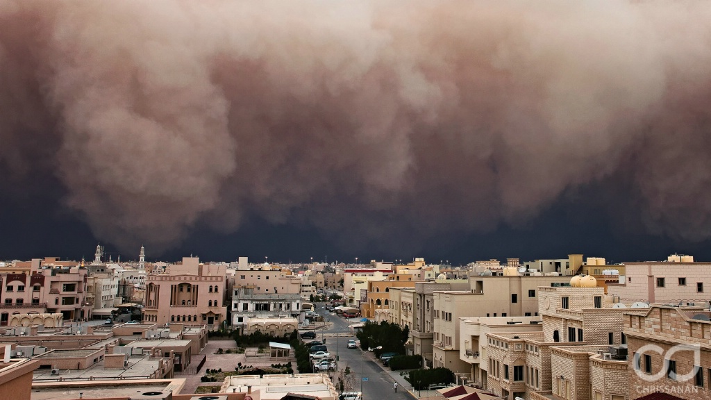 Kuwait Massive Sandstorm