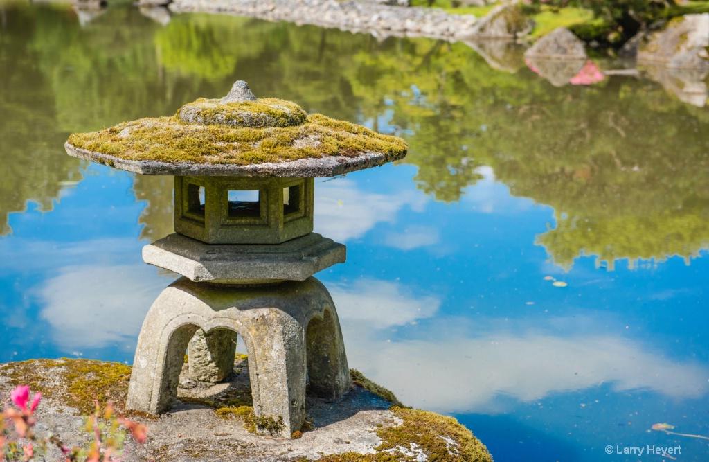 Seattle Japanese Garden - ID: 15143194 © Larry Heyert