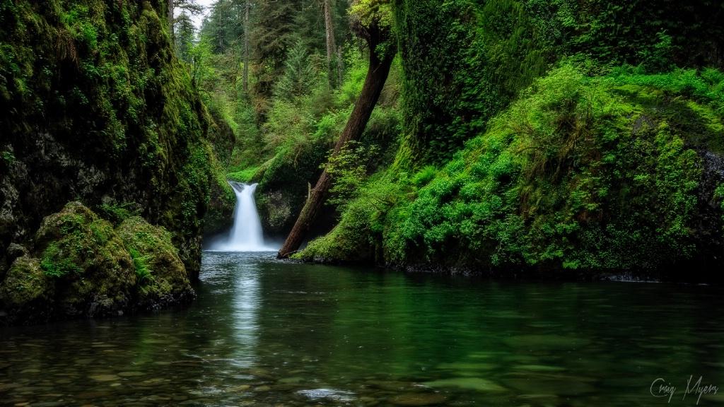 Punchbowl Falls - ID: 15147476 © Craig W. Myers