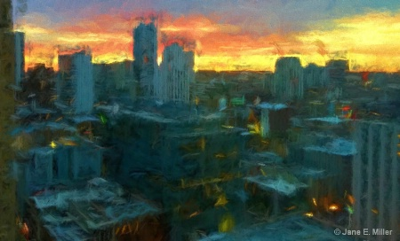 Downtown Chicago Modern Art