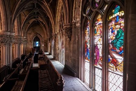 Gothic Church Balcony