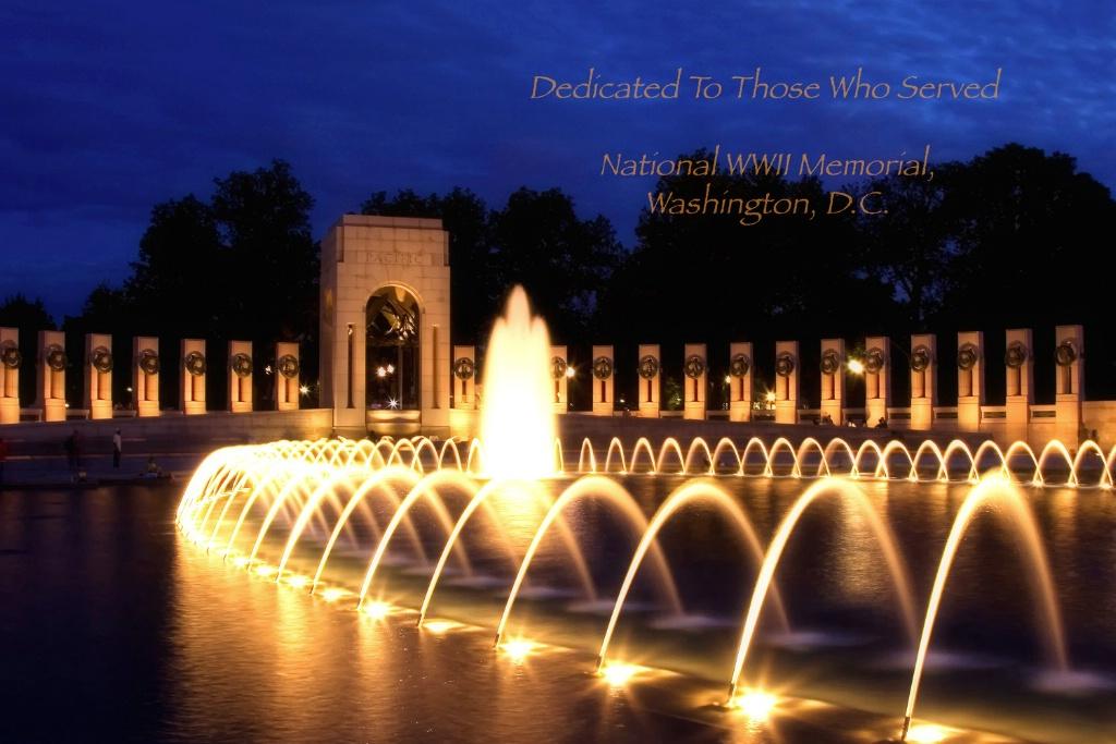 National World War II Memorial - ID: 15156233 © Leland N. Saunders