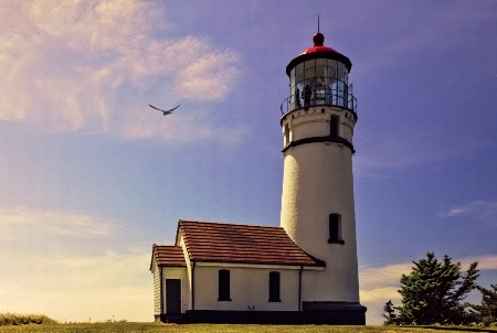 A Breezy Morning At Cape Blanco Lighthouse