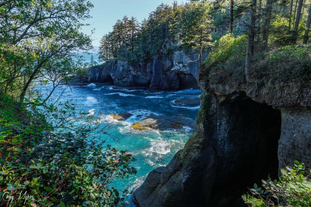 Cape Flattery Sea Caves - ID: 15162090 © Craig W. Myers