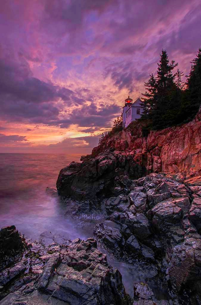 Historic Bass Harbor Lighthouse - ID: 15167533 © Juergen Roth