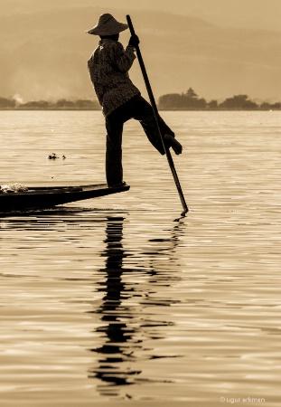 Fisherman,Inle Lake