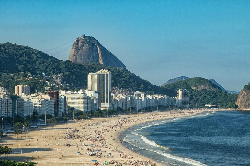 Welcome to Copacabana Beach in Rio - ID: 15174853 © Paul Knupp
