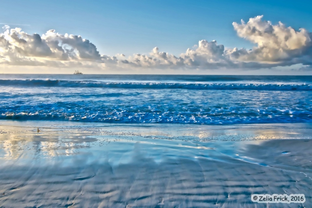 Carolina Blue Sunrise - ID: 15182312 © Zelia F. Frick
