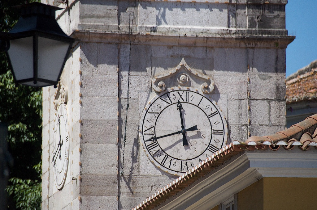 Sintra Tower Clock - ID: 15211978 © David Resnikoff