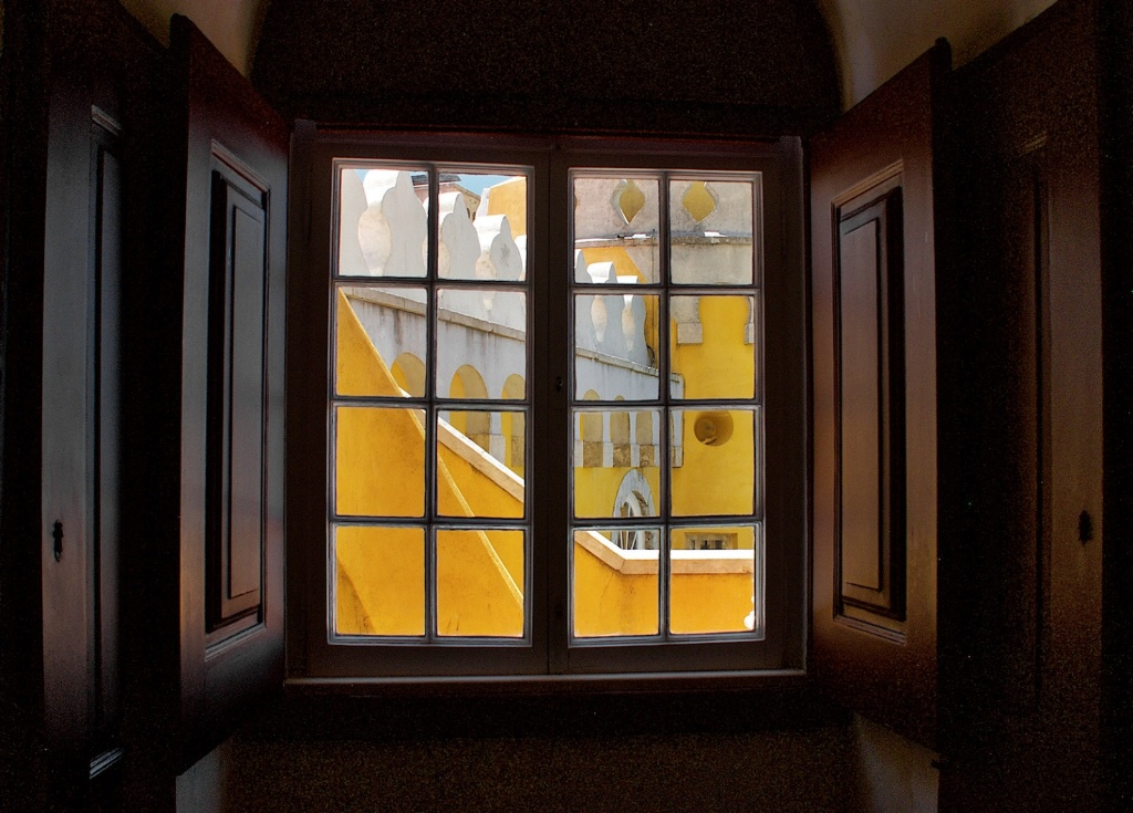 Sintra from a Window  - ID: 15212002 © David Resnikoff
