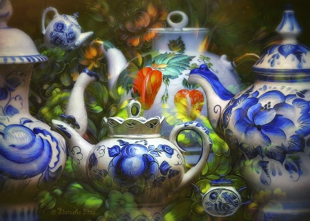 Photography Contest Grand Prize Winner - August 2016: Garden tea room