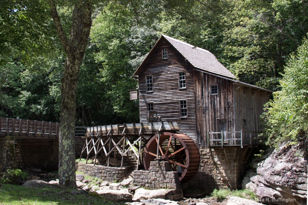 Glade Creek Grist Mill 2 - ID: 15230505 © Lisa R. Buffington