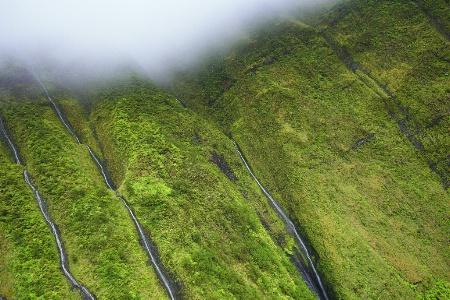 Cloud Fed Waterfalls