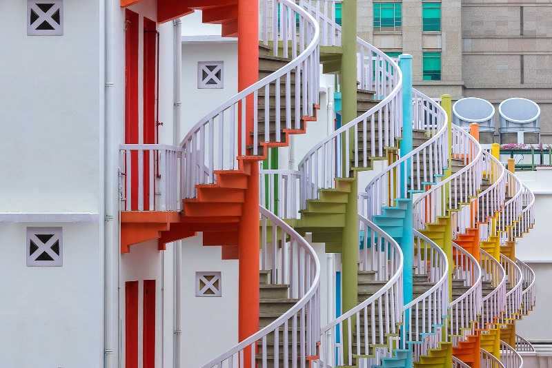 Spirals of Colour