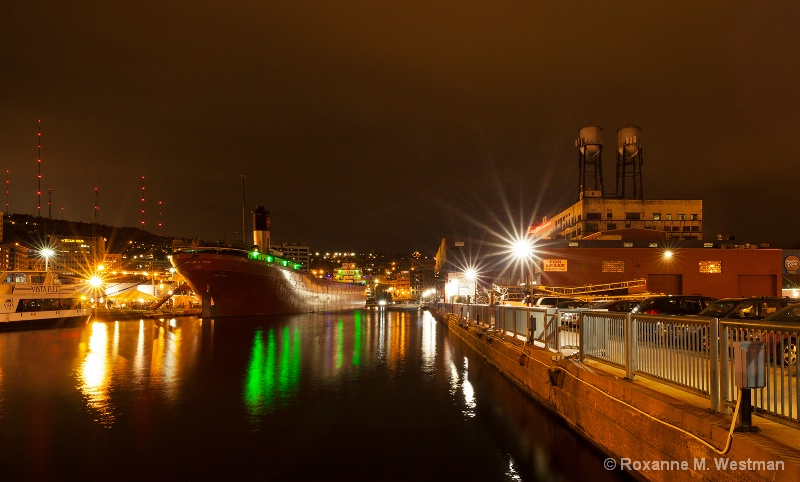 Ghost ship of Duluth MN - ID: 15279148 © Roxanne M. Westman