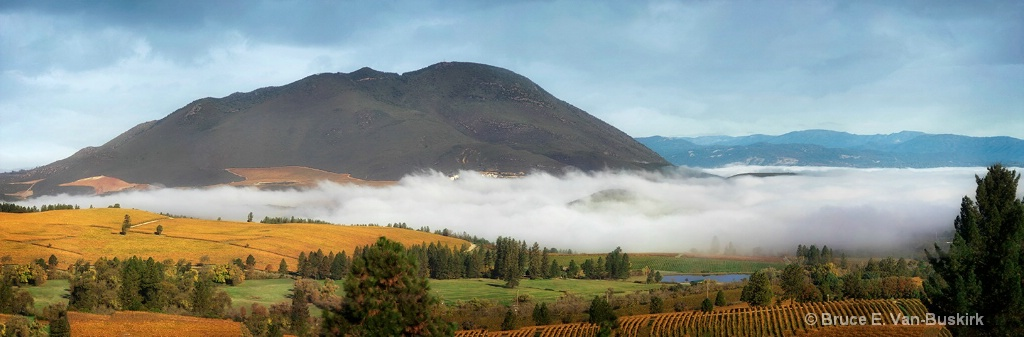 low clouds- smaller - ID: 15282585 © Bruce E. Van-Buskirk