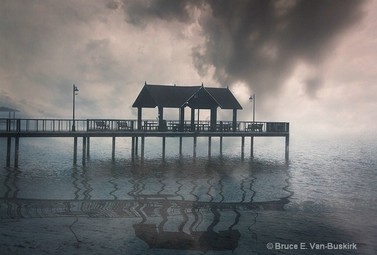 Low fog breaking - ID: 15282599 © Bruce E. Van-Buskirk