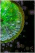 Lime in bubbles