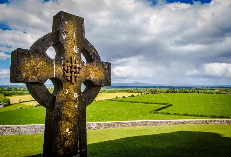 Celtic Cross and Plains of Cashel - ID: 15293849 © Martin L. Heavner