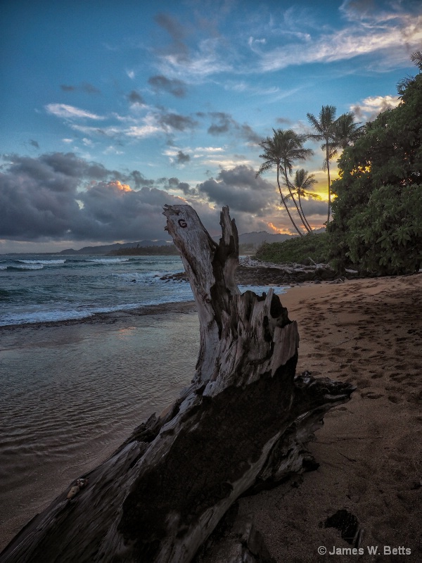North Shore Sunset Kauai, HI