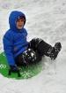 Sliding Down Snow...