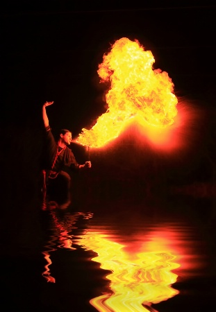Fire Breathing Reflection