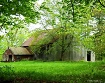 Old Barn in Summe...