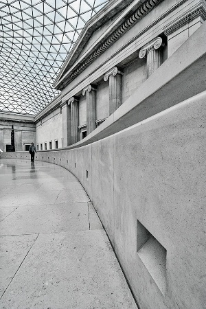 Alone in the Museum