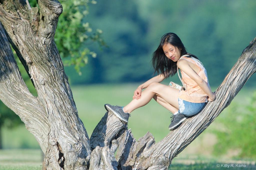 Yumiko in Valley Forge  - ID: 15336320 © Kitty R. Kono