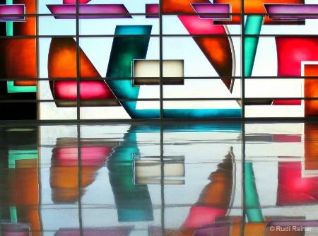Airport  glasswork
