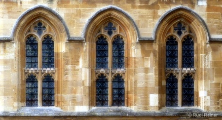Three windows, London