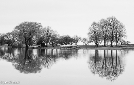 Reflections in the Lagoon #1