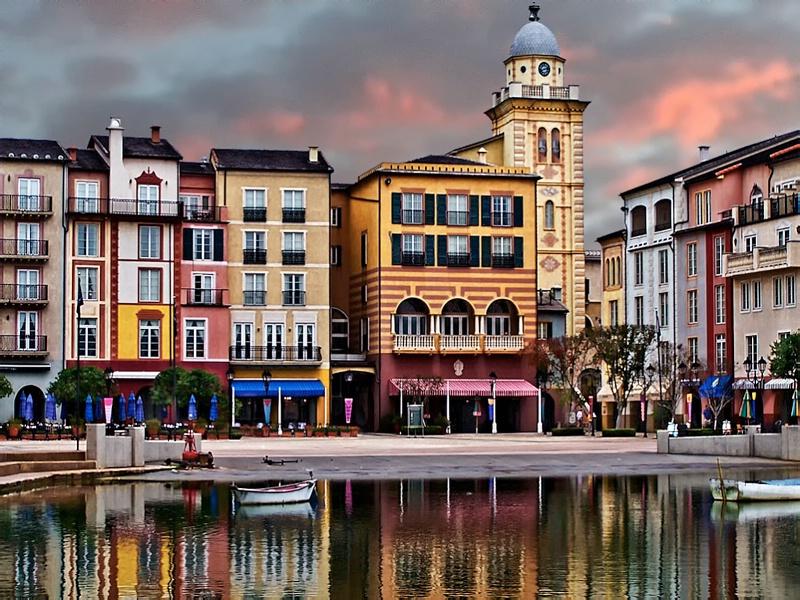 Portofino Orlando Sunset - ID: 15349526 © Denny E. Barnes
