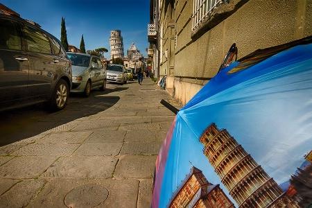 A street in Pisa