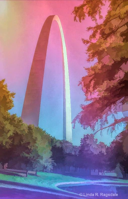 Rainbow arch - ID: 15373800 © Linda R. Ragsdale