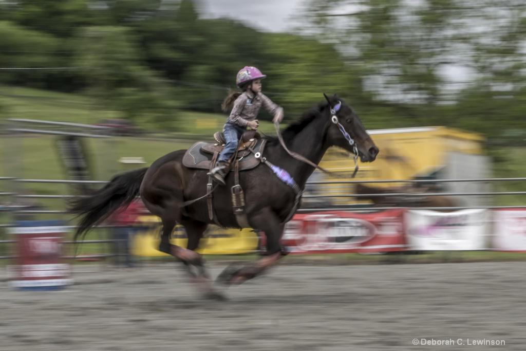 Rider Age 7 - ID: 15375516 © Deborah C. Lewinson