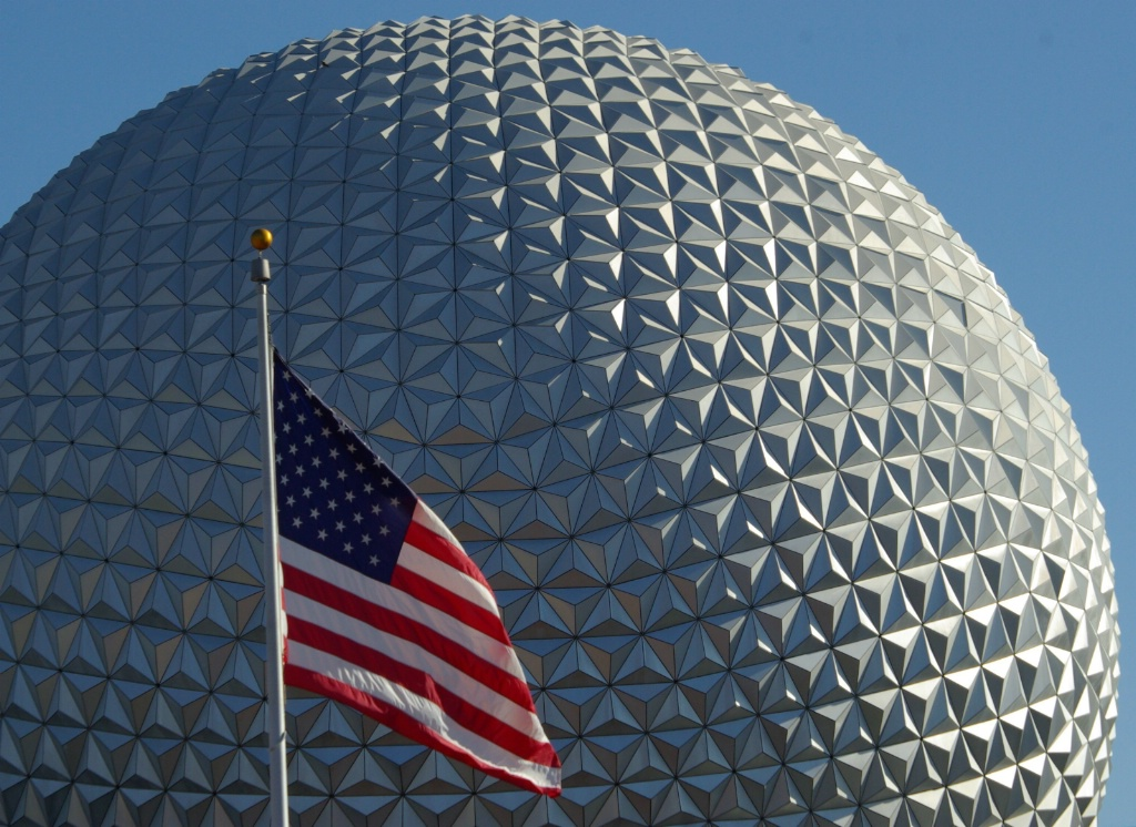 Old Glory at Epcot