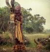 Indian Wood Sculp...