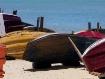 Boats near the se...