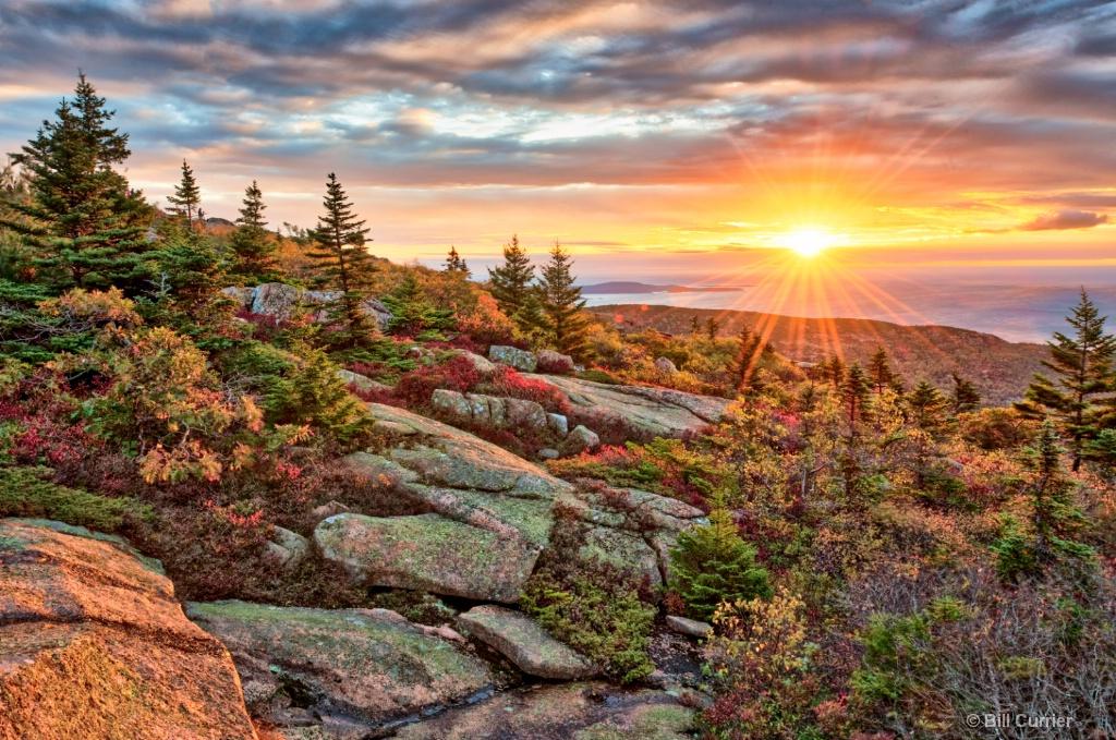 Cadillac Mountain Sunrise - Acadia National Park - ID: 15484644 © Bill Currier