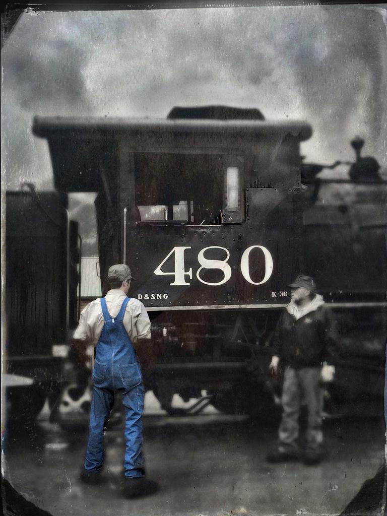 Train Conductor - ID: 15495312 © Sheila Babbie