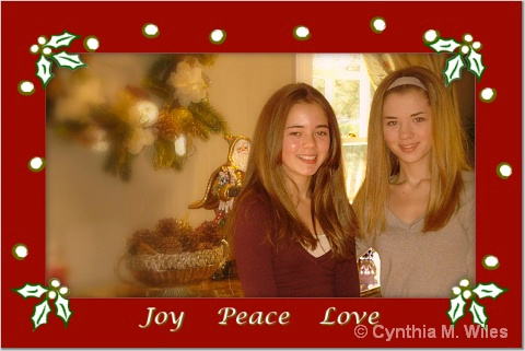 Joy Peace Love - ID: 15507143 © Cynthia M. Wiles