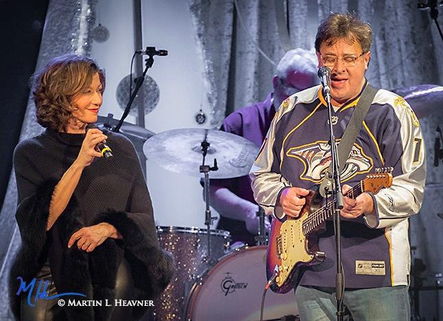 Amy Grant & Vince Gill at Ryman - Nashville, TN - ID: 15513623 © Martin L. Heavner
