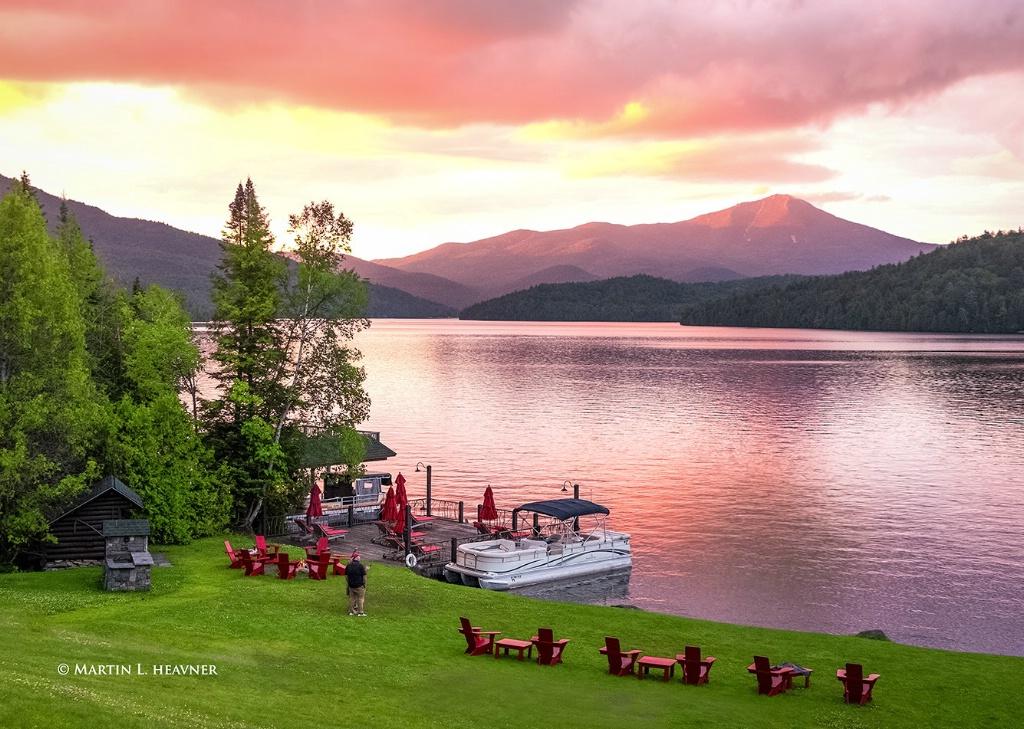 Adirondack Alpenglow - Lake Placid, NY - ID: 15513624 © Martin L. Heavner