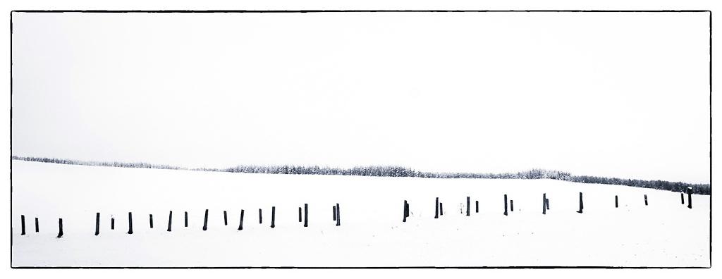 Highlands Snow Abstract - Scotland - ID: 15513692 © Martin L. Heavner