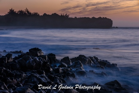 Kauai - Misty Morning Sunrise
