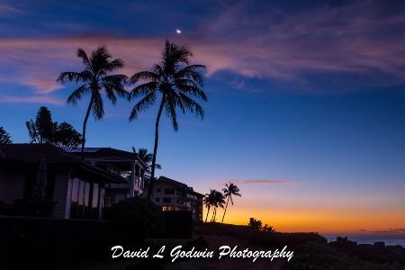 Kauai - Transition of Night into Day
