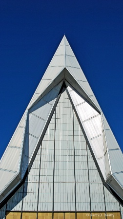 Front of Airforce Academy Chapel